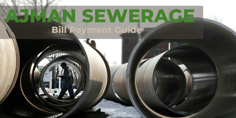 Ajman Sewerage Bill Payment Guide