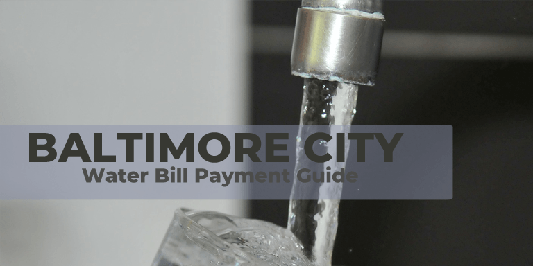 Baltimore Water Bill Payment Guide