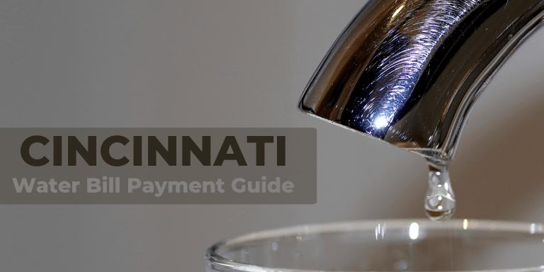 Cincinnati Water Bill Payment Guide