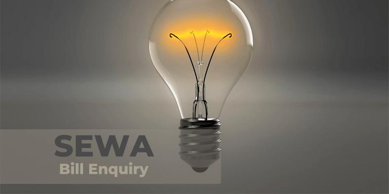 SEWA Bill Enquiry