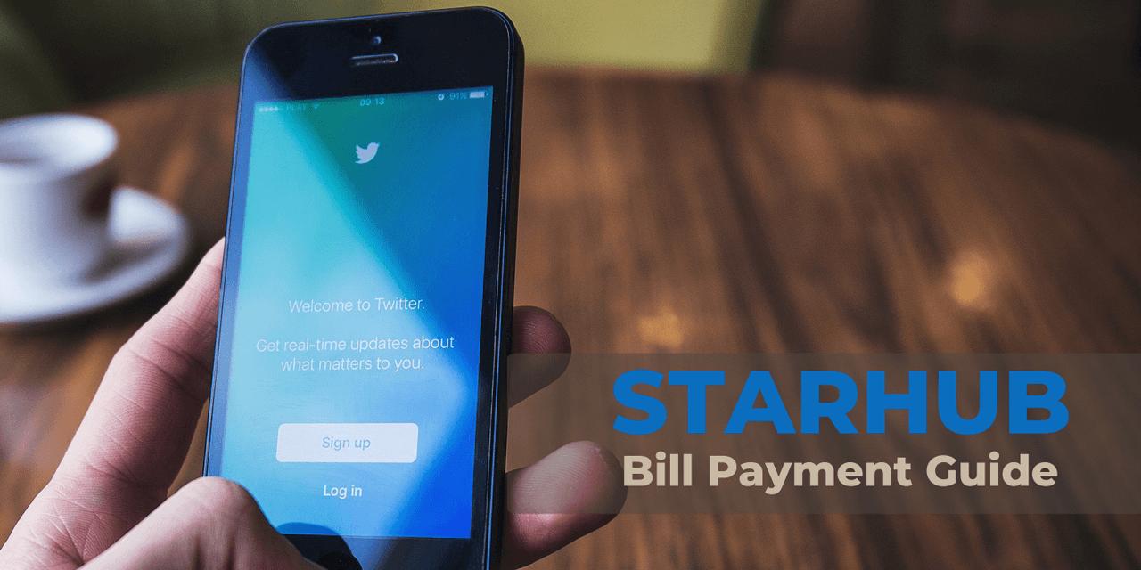 Starhub Bill Payment Guide