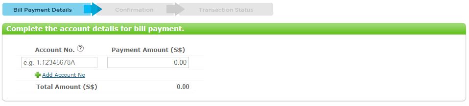 Starhub Bill Payment