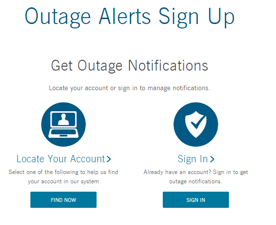Duke Energy Outage Alert Sign Up