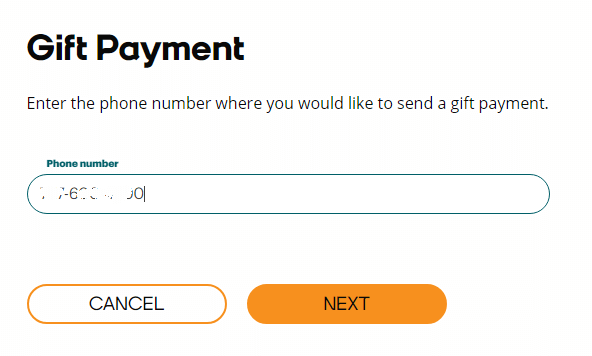 Boost Mobile Gift Payment